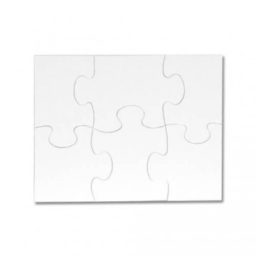Puzzel, magneet, 6 stukjes,...