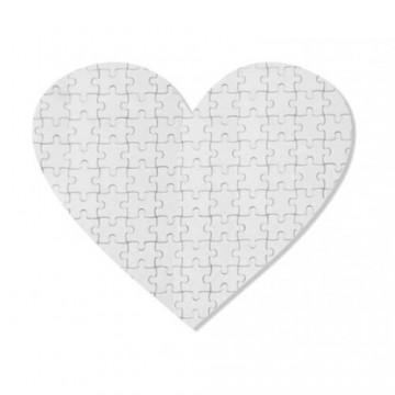 Puzzel, 9, karton, hart, 63...