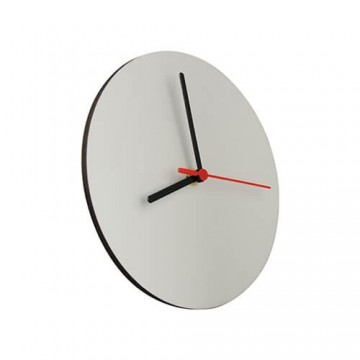 MDF, Clock, round, 30 cm,...