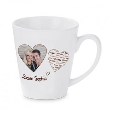 Mug, conical, sublimation