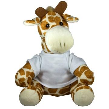 Pluche Giraffe 22cm met...