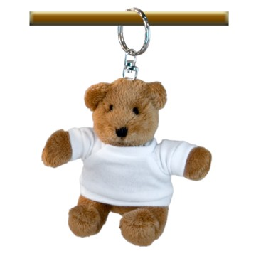 Plush, Keychain, Bear with...