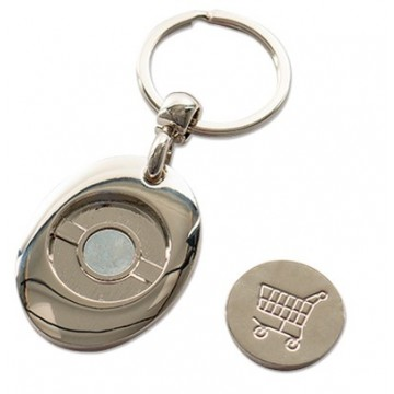 Keychain, with coin holder...