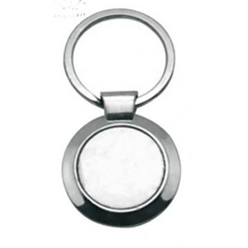 Keychain, Round, Metal,...