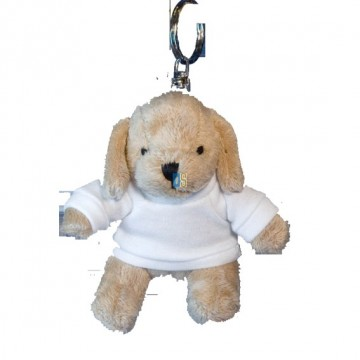 Plush, Keychain, Dog with...