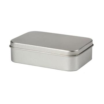 Pill Box, tin, 6x5x1,7cm