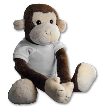 Pluche, Monkey, with...