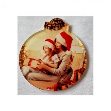 Acryl subli kerst bal