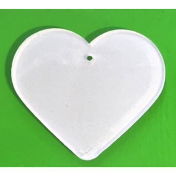 Acryl subli kerst hart