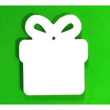 Acryl kerst giftbox, subli