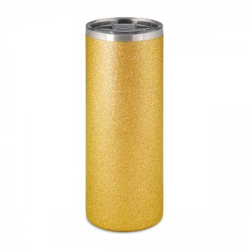 Thermobeker glitter zilver...
