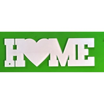 Acryl Home letters