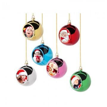 Kerstballen set 12 ex,...