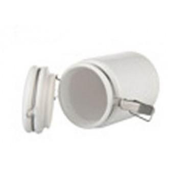 Ceramic, Jar with lid,...